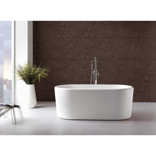 "Virtu USA Serenity VTU-2267 67"" x 27.5""  Freestanding Soaking Bath Tub - BathVault"