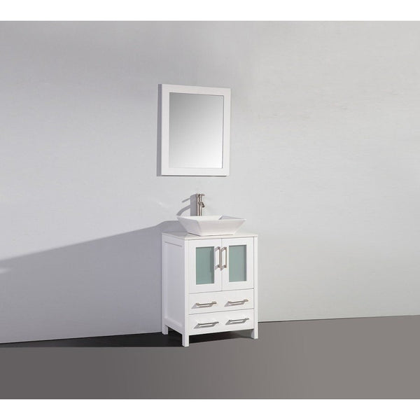 Legion Furniture Bathroom Vanity with Sink 24 inch WA7824 - BathVault