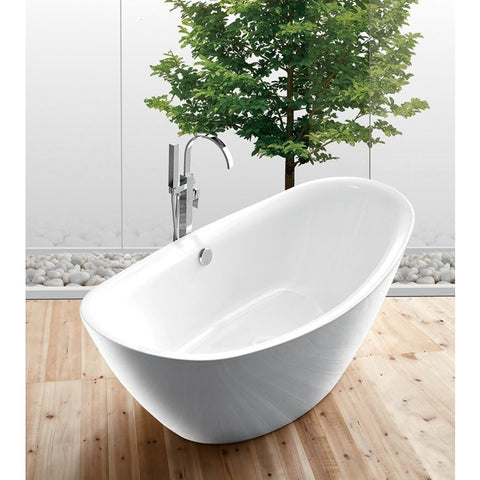 Legion Furniture Soaking Bathtub - Freestanding WE6842 - BathVault