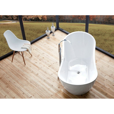 Legion Furniture Soaking Bathtub - Freestanding 71