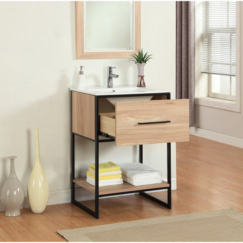 Legion Furniture Bathroom Vanity with Sink 24 inch WH7024 - BathVault