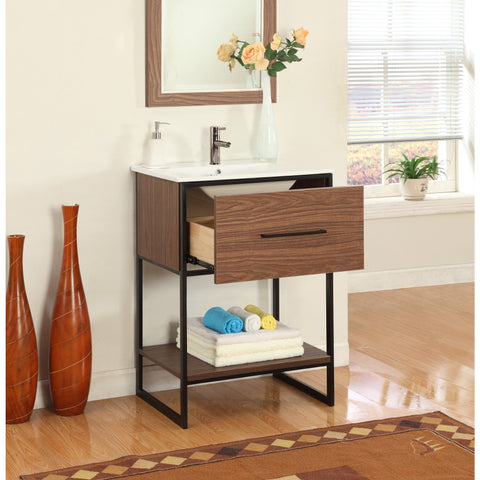 Legion Furniture Bathroom Vanity with Sink 24 inch WH7024
