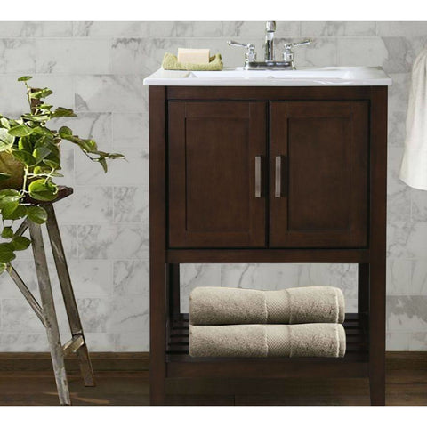 "Legion Furniture Bathroom Vanity with Sink 24"" WLF6020 - BathVault"