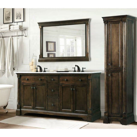 Legion Furniture Unique Bathroom Vanities with Sink 60 inch WLF6036-60 - BathVault