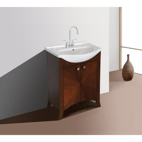 Legion Furniture Bathroom Vanity with Sink 24 inch WLF6041 - BathVault