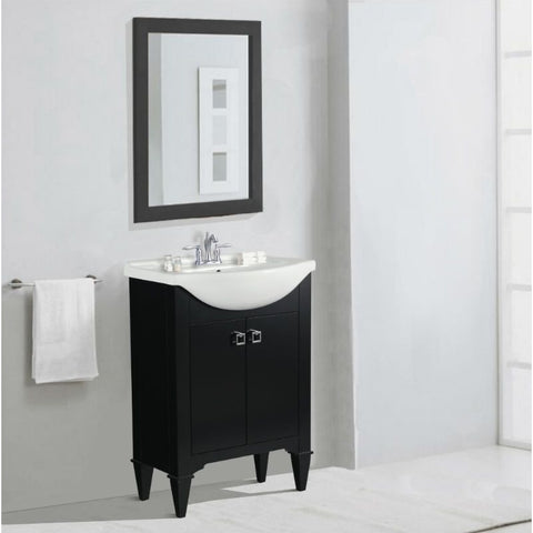 Legion Furniture Bathroom Vanity with Sink 24 inch WLF6045 - BathVault