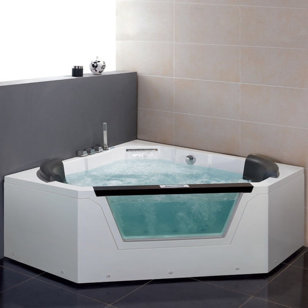 ARIEL Platinum AM156 Whirlpool Bathtub - BathVault