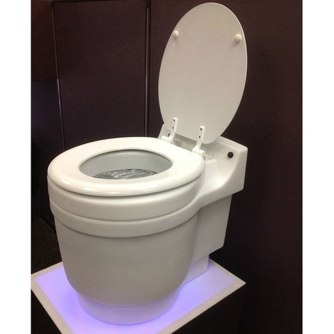 Dry Flush Laveo Portable Waterless Compostable Toilet DF1045 - BathVault