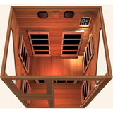 Ensi RED™ 2 Person Zero-EMF Far Infrared Sauna - BathVault