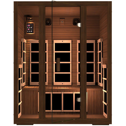 Freedom 3 Person Infrared Sauna - BathVault