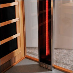 1 Person Clearlight Full Spectrum Infrared Cedar Sauna Sanctuary 1-FS - BathVault