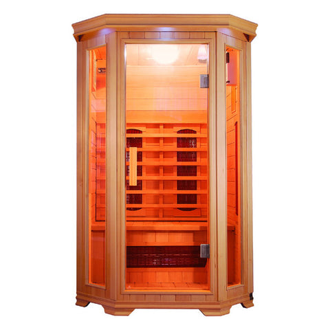 Sunray 2 Person HL200W Heathrow Infrared Sauna