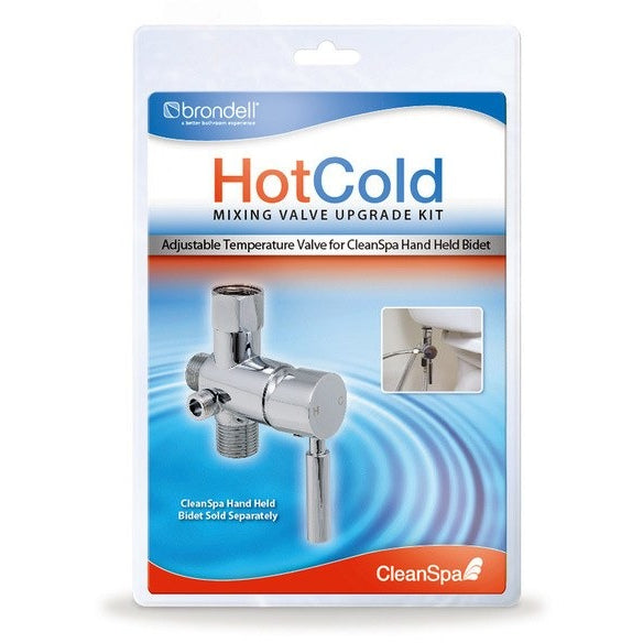 Cleanspa Hand Held Bidet In Silver.Hotcold Mixing Valve Upgrade Kit For Cleanspa Handheld Bidet Mvk 10