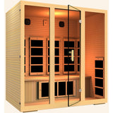 JNH Lifestyles Joyous 4 Person Infrared Sauna (2019 Model) - BathVault