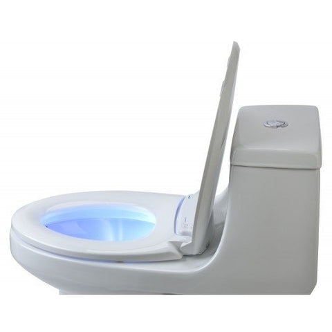LumaWarm Heated Toilet Seat with NightLight - Brondell L60 - BathVault