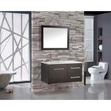 "MTD Vanities Floating Vanity Set - Nepal 41"" Wall Mounted MTD8133 - BathVault"
