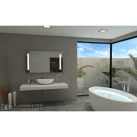 IB Mirror Illuminated Vanity Mirror - Paris Verano 110V - BathVault