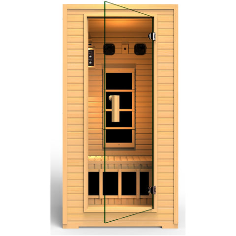 Vivo 1-2 Person Far Infrared Sauna - BathVault