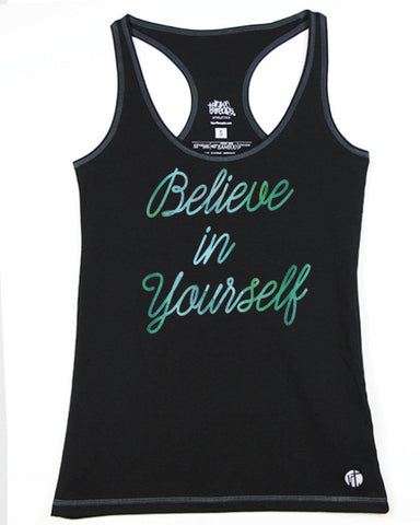 Believe in Yourself (Fairy) Racer - Raw Threads Athletics