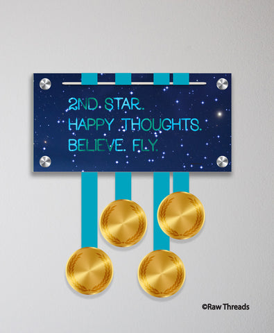Acrylic Art: 2nd Star Medal Display