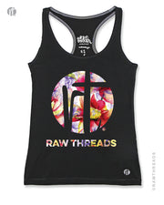 Raw Threads Floral Logo Racer
