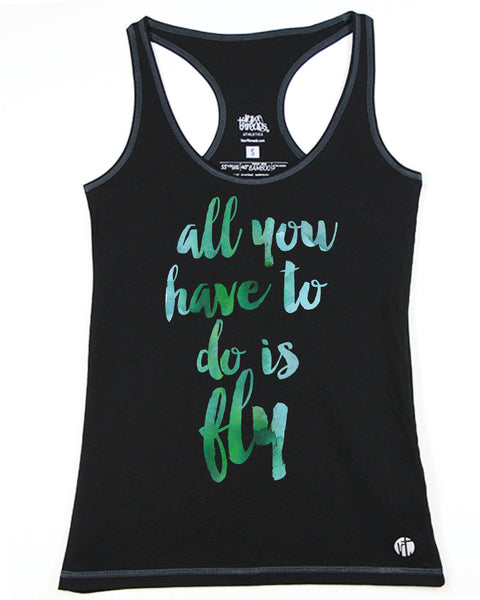 All You Have To Do Is Fly Racer - Raw Threads Athletics