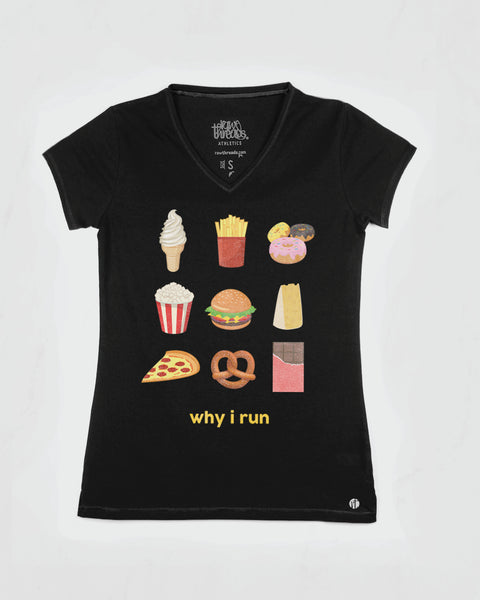 Why I Run (junk food) V