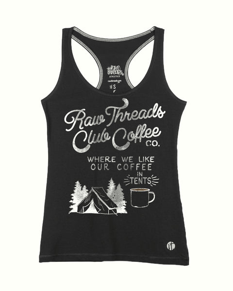 'In Tents' Raw Threads Club Coffee Racer