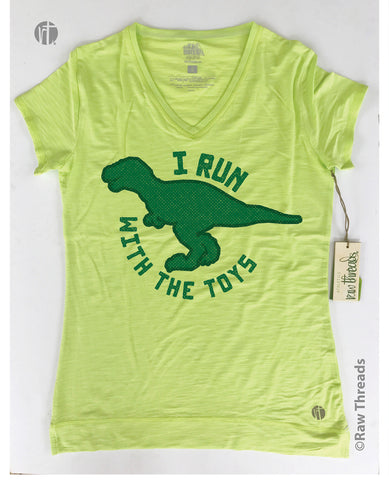 I Run With the Toys (T-Rex) Limeade V