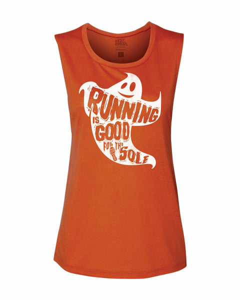 Running is Good for your SOLE Flowy Scoop Tank