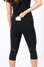 Black Performance Crop