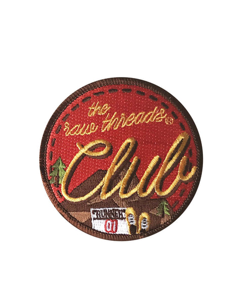 Raw Threads Club Iron-On Patch