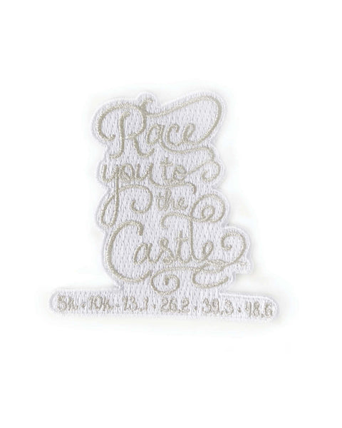 Race You to the Castle Iron-On Patch