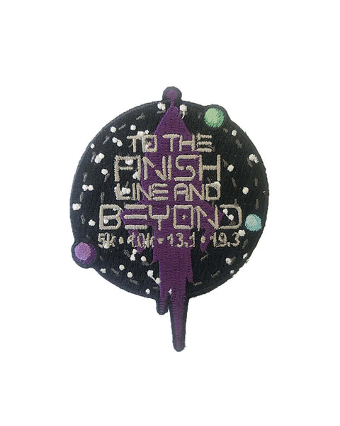 To the Finish Line and Beyond Patch