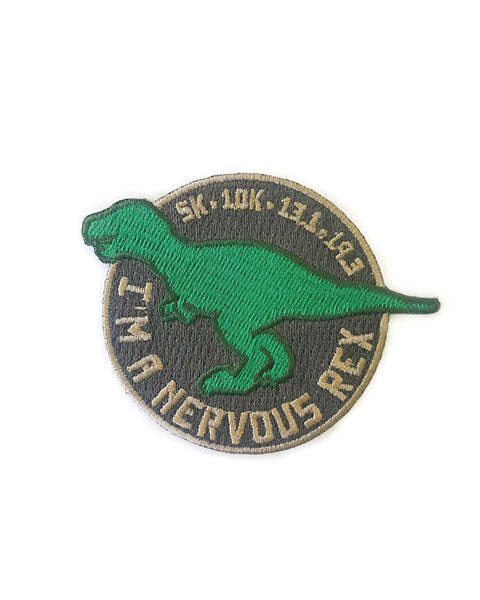 Race Day Nervous Rex Patch