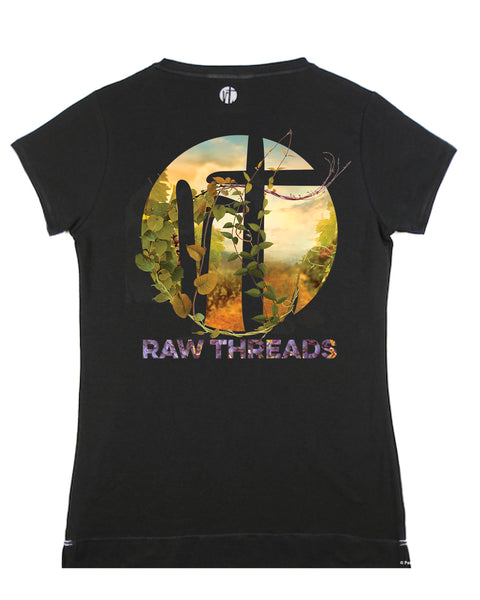 Raw Threads Logo 'Vineyard' V