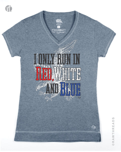 I Only Run in Red, White, and Blue V