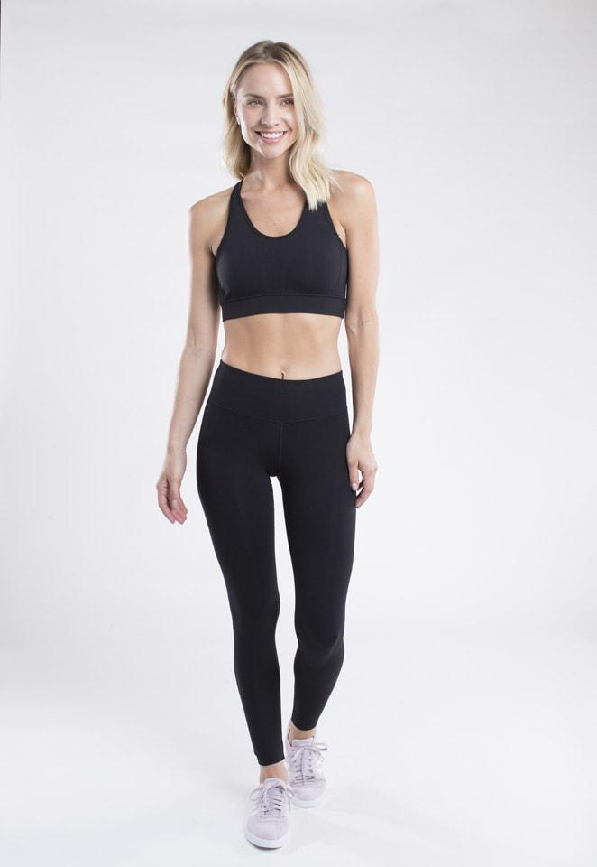 Endurance II Sports Bra in Black