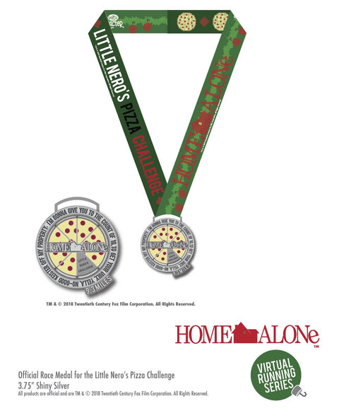 Home Alone Little Nero's Pizza Challenge 9.3 Miles Virtual Race