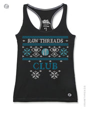 Raw Threads Club Holiday Sweater Racer