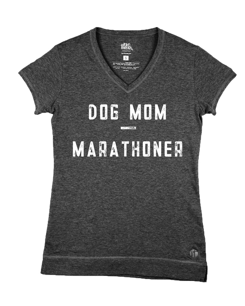 Customized Dog Mom - Marathoner V