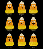 'Personalized' Candy Corn Emoticons V