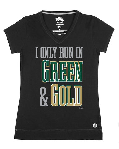 I Only Run in Green and Gold V