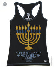 Personalized Happy Hanukkah Sweater Racer