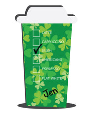 Personalized Irish Coffee Flavors Racer