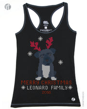 Personalized Dog Christmas Sweater Racer