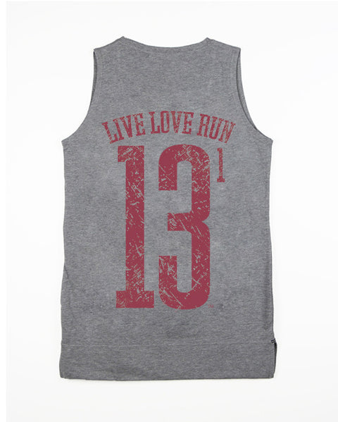Vintage 'I Only Run in Crimson' Half Marathon Equilibrium Tank