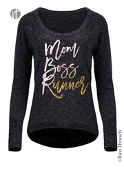 Mom Boss Runner Bywater Pullover