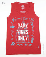Park Vibes Only Equilibrium Tank (Blue Ink)