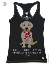 Personalized Labrador Christmas Sweater Racer